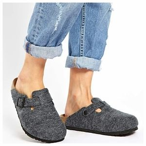Birkenstock Boston Wool Clogs
